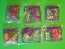 2008 McDonalds - Polly Pocket - set of 6 *MIP*