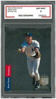 DEREK JETER #279 RC Rookie Foil 1993 Upper Deck SP ~ BSG 8