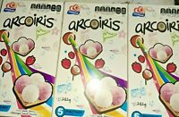Gamesa Arcoiris Mashmallow Cookies, 282g, 5 Packs per Box( 3 Boxes Total )Mexico