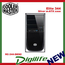 Cooler Master Elite 344 Silver m-ATX without PSU USB3.0 RC-344-SKN2