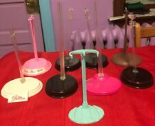 Mixed Lot Of 9 Barbie Stands
