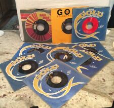 Lot Of 10 Elvis Presley 45 RPM 7 Inch Records (LIKE NEW CONDITION)
