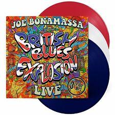 JOE BONAMASSA - BRITISH BLUES EXPLOSION LIVE (COLORED VINYL) 3VINYL LP+MP3 NEW