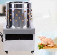 1500w Turkey Chicken Plucker Plucking Machine Poultry De-Feather Stainless Steel