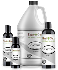 Castor Oil Cold Pressed Organic 100% Pure For Eyelashes, Eyebrows, Hair Growth