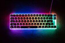 Womier K66 66Key Tyce-C Wired RGB Backlit Gateron Switch Gaming Keyboard