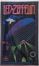 Led Zeppelin Flag Rock & Roll  3x5 ft Vertical Banner