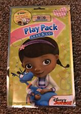 Play Pack DOC MCSTUFFINS Coloring Book Stickers Crayons Resealable Travel
