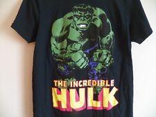 New THE INCREDIBLE HULK Men's Black Medium Superhero Marvel Comics movie T-Shirt