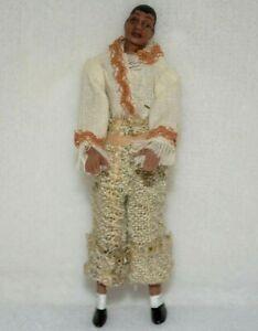 Minature Doll Porcelain Man Dollhouse 1:24