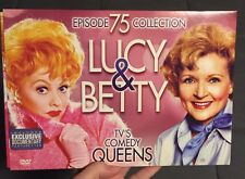 "*LIKE NEW* ""LUCY & BETTY"" TV's COMEDY QUEENS 75 EPISODE DVD VIDEO COLLECTION"