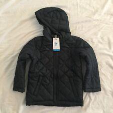 Penguin Boys Night Blue Quilted Jacket 4-5 Y BNWT xs Junior School Coat RRP £49