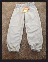 Rawlings's Youth Baseball Pants Grey Walypub Size Small NEW