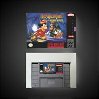 The Magical Quest Starring Mickey Mouse - US pal Version SNES SUPER NINTENDO