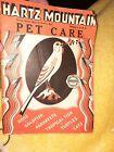 Vintage Hartz Mountain Pet Care booklet