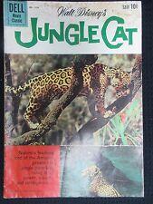 Walt Disney'S Jungle Cat 1960 Dell Comics Movie Classic Four Color #1136