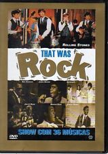DVD that was Rock Rolling Stones C. Berry J. Brown Supremes R. Charles