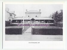 iw0209 - Swimming Baths , Cowes , Isle of Wight c1885 - photo printed on board