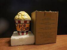Ceramic Popcorn Seasoning Shaker 4 Inches Tall X 3 Inches Diameter New