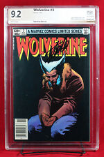 WOLVERINE LIMITED SERIES #3 PGX 9.2 NM- Near Mint Minus signed STAN LEE! +CGC!!!
