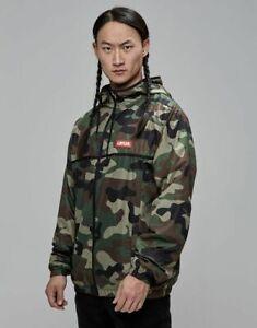 Cayler & Sons Trust Windbreaker Men's Camouflage Hooded Full Zip Outwear