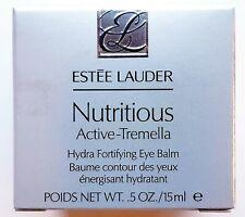 Estee Lauder Nutritious Active-Tremella Eye Balm Hydrates Brightens .5 oz.15ml
