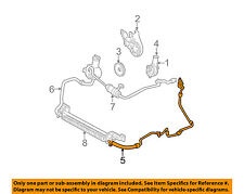 FORD OEM-Power Steering Return Hose 3F1Z3A713AA