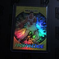 2019-20 Zach Lavine NBA Hoops High Voltage Card SP Holo Chicago Bulls