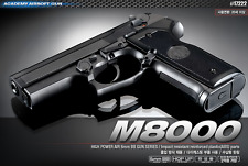 Academy Beretta M8000 Airsoft Pistol BB Shot Gun 6mm Hand Toy Kids Hobby 17222