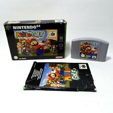 Mario Golf Nintendo 64 N64 Game PAL UK Boxed Complete