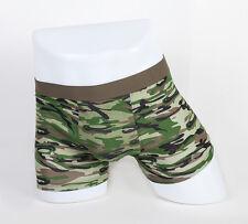 4pc S 28-30 Stretchable Trunk Short Cotton Mens Boxer Briefs Underwear Camouflag