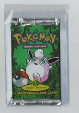 ++ Pokemon Jungle Booster Packung english Wigglytuff Art sealed ++