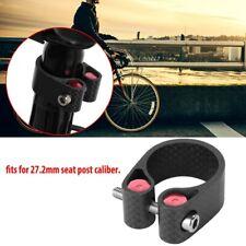 Seatpost Clamp MTB ROAD Bike 27.2mm Seat Post Saddle Clamps Carbon Fiber