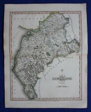 Original antique map CUMBERLAND, John Cary, 1809