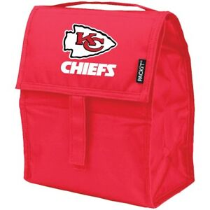 Kansas City Chiefs PackIt Lunch Bag, NFL Freezable Lunch Box