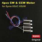4PCS Original CW CCW Motor Engine for Syma X5UC X5UW RC Quadcopter Spare Parts