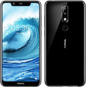 "Original Nokia 5.1 Plus (Nokia X5) 64GB 4GB RAM 4G LTE 13MP 5.86"" Smartphone"