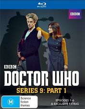Doctor Who : Series 9 : Part 1 (Blu-ray, 2015, 2-Disc Set)