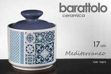 BARATTOLO H17 CM CUCINA CERAMICA CONTENITORE COLOR MEDITERRANEO TAW 710674
