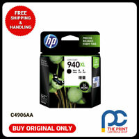 New & Original HP 940XL High Yield Black Ink Cart C4906AA Pro 8000 8500 8500A