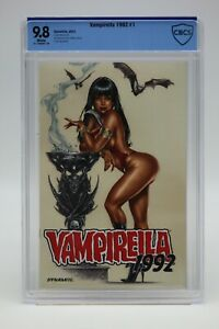 Vampirella 1992 (2021) #1 Mike Krome Cover A CBCS 9.8 Blue Label White Pages