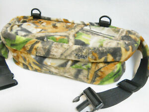 """Quiet FANNY PACK Camouflage Waterproof Lined Archery Hunting Photography 15"""""""