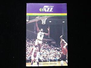 1981-82 Utah Jazz NBA Basketball Yearbook