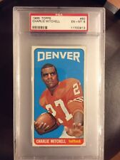 1965 Topps Football #60 Charlie Mitchell PSA 6