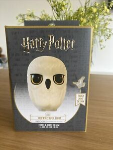 New In Box Primark Harry Potter Hedwig Night Light Children's Bedroom Touch Lamp