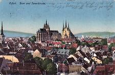 AK, Erfurt, Dom u. Severikirche, 1918 (D)5026