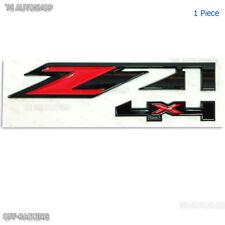 Z71 4X4 3D Red Black ABS Sticker Emblem For Chevrolet Colorado Tahoe Holden UTE