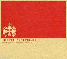 ♫ 3 CD THE UNDERGROUND 2008 MINISTRY OF SOUND ♫