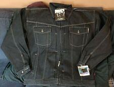 NWT Vintage Fubu Mens Jean Jacket Size 3XL XXXL Denim Retail $85.50