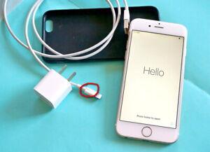 Apple iPhone 6 16GB Gold (Unlocked) A1586 (CDMA + GSM) used